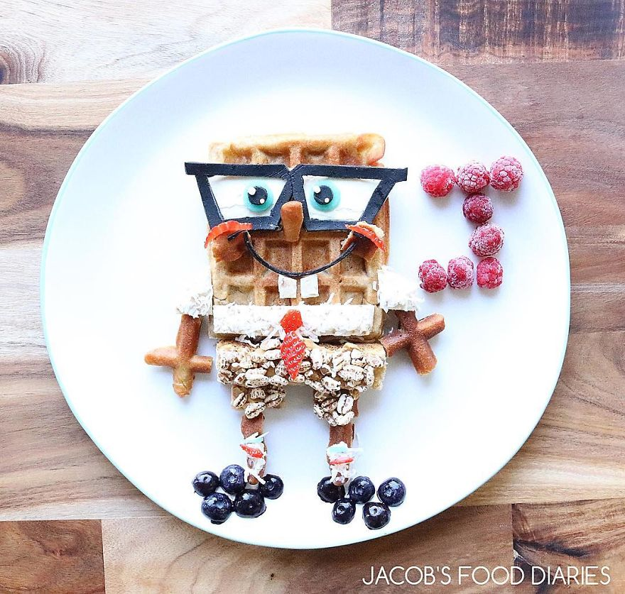Makanan Kartun  © 2017 Bored Panda