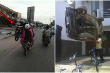 7 Foto ini bukti di Indonesia banyak orang kuat sakti mandraguna, top!