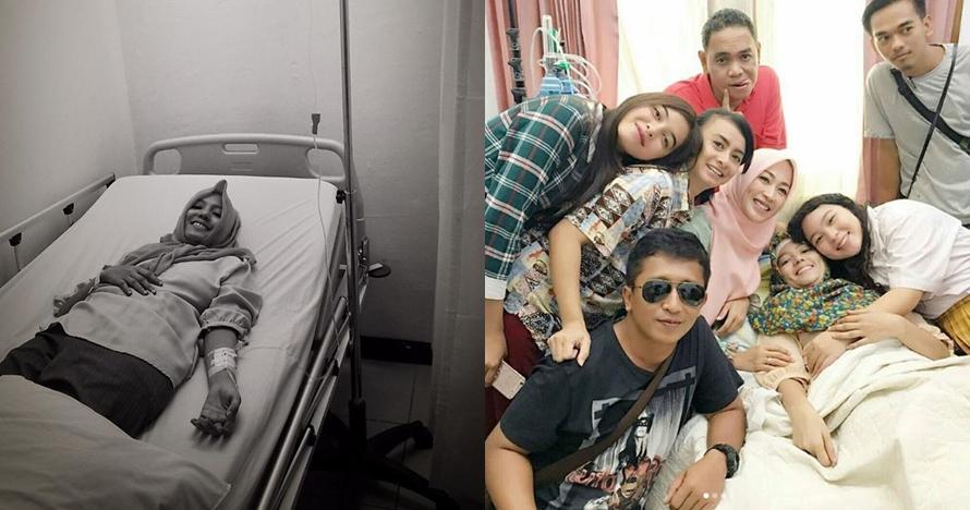 9 Foto perjuangan Renita Sukardi hadapi kanker, masih sempat syuting
