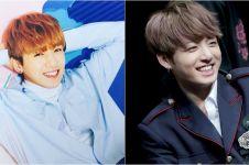 10 Foto buktikan Jungkook 'BTS' dan Sungjin 'Day6' cocok jadi saudara