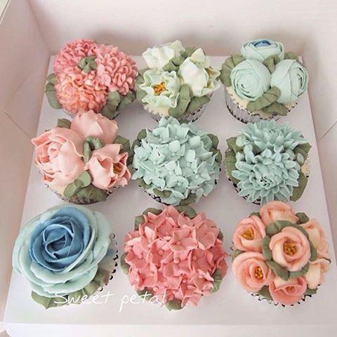 cupcake toping bunga © 2017 brilio.net