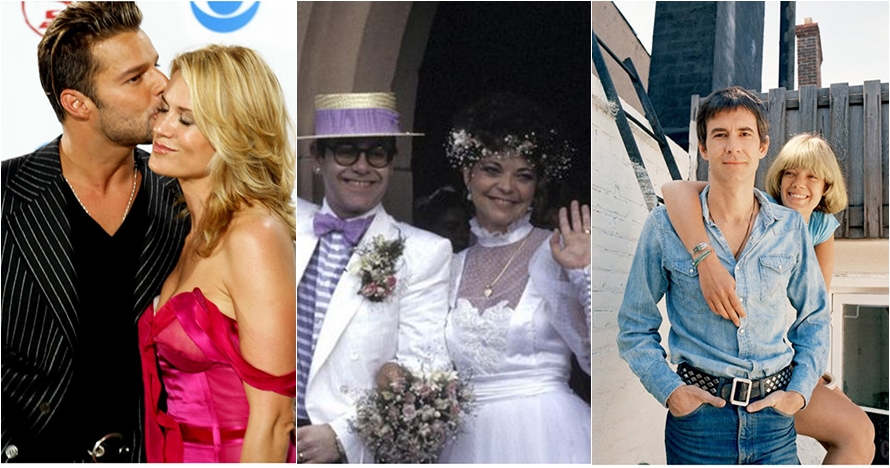Mengaku gay, 10 seleb Hollywood ini justru pernah menikahi wanita lho