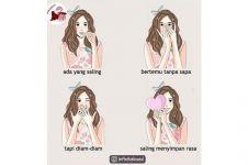 7 Ilustrasi lika-liku percintaan ini pasti pernah kamu alami