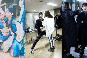Terlalu tinggi, pose 13 seleb Korea saat didandani stylist ini kocak
