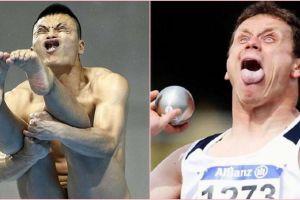 10 Ekspresi muka kocak atlet saat berlaga, antara sadar atau nggak