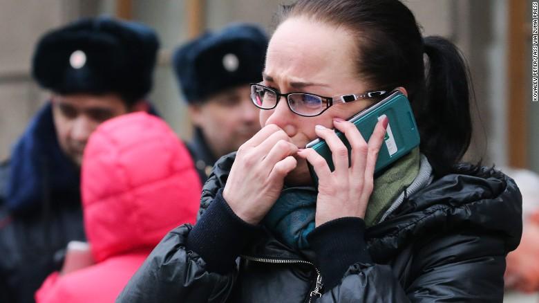bom di St. Petersburg Rusia © 2017 CNN