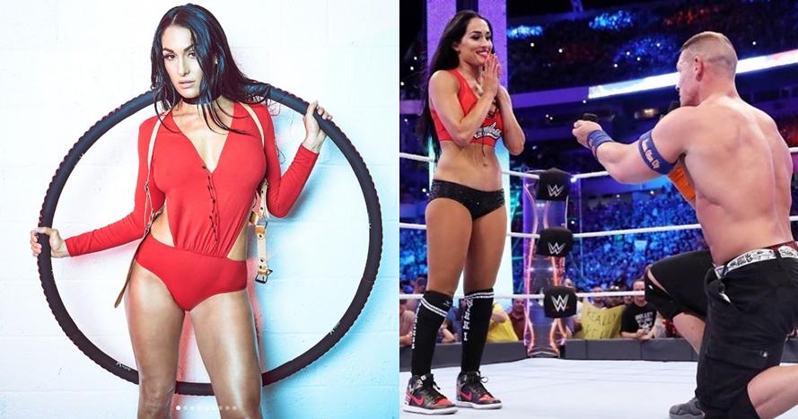Dilamar di ring gulat, ini 10 potret seksi calon istri John Cena
