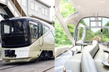 12 Foto isi kereta paling mewah di Jepang yang diluncurkan Mei nanti