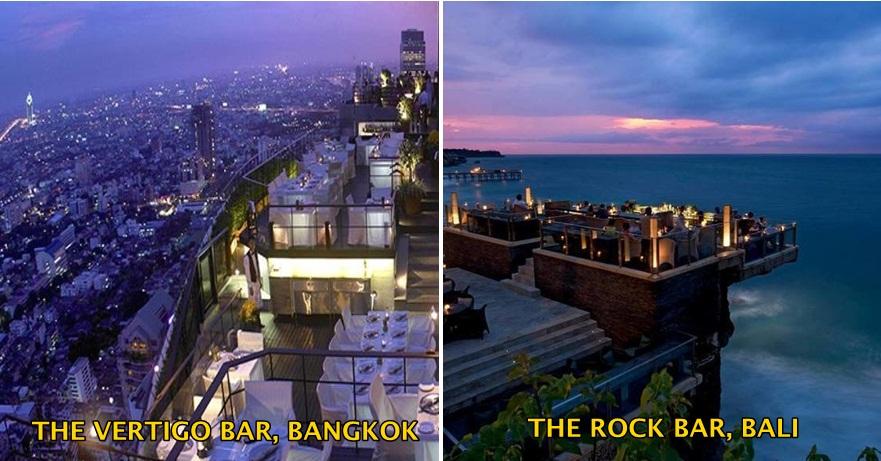 18 Kafe rooftop mewah di dunia ini bikin nyaman ngobrol berjam-jam