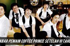 Kabar pemain Coffee Prince setelah 10 tahun, banyak om-om gantengnya