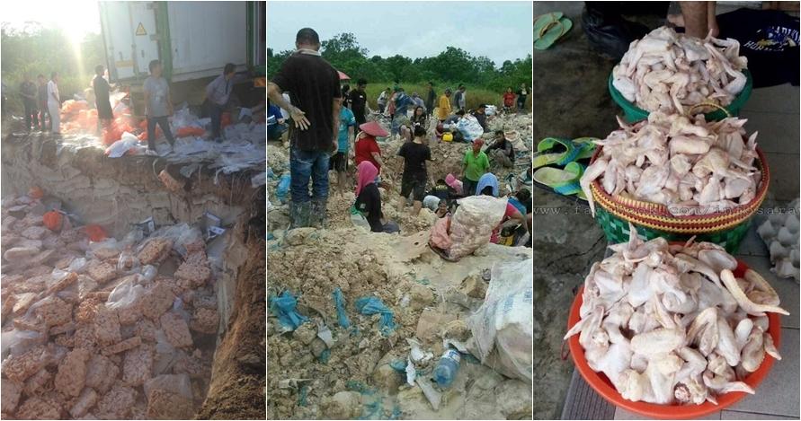 Warga desa ini makan sayap ayam terkubur berhari-hari, nggak jijik?
