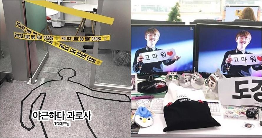 Ngerjain teman kantor ala orang Korea ini ngocol abis, boleh juga nih
