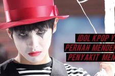 Siapa sangka, 6 idol ini ternyata pernah menderita penyakit mental