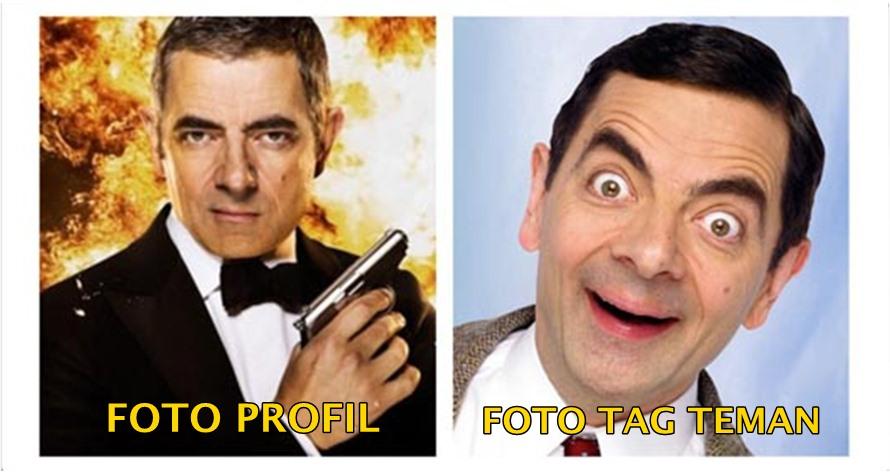 16 Meme kocak 'foto profil vs foto tag teman', bedanya bikin ngakak