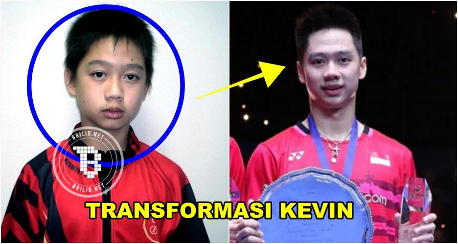 12 Foto transformasi Kevin Sanjaya, ada foto pas raih hadiah Rp 1 juta