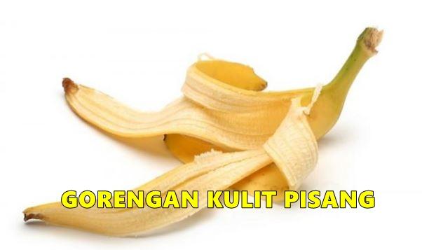 Resep gorengan kulit pisang ini awalnya serius, endingnya ngocol abis
