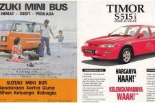 13 Iklan jadul mobil di Indonesia, jadi geli sendiri membacanya