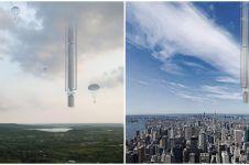 8 Potret Analemma, desain gedung melayang bikin melongo tak keruan