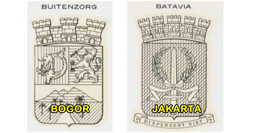 15 Lambang kota di Indonesia era zaman kolonial ini epik banget
