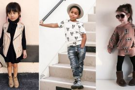 10 Gaya fashion selebgram cilik di dunia, kecil-kecil udah stylish