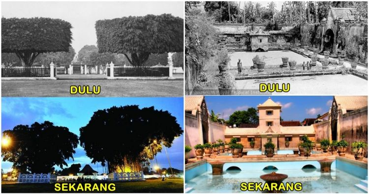 8 Foto perbedaan wisata Jogja dulu dan sekarang, lebih eksotis mana?
