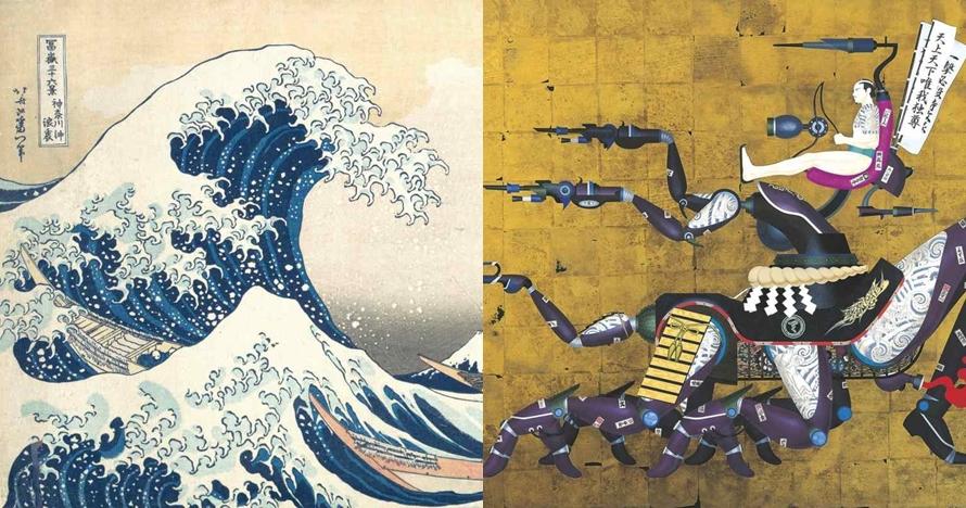 9 Lukisan paling populer di Jepang selama berabad-abad, epik!