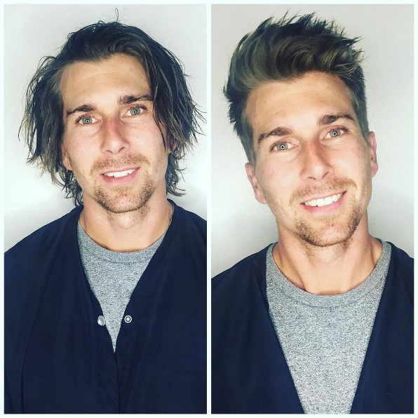 cowok potong rambut © 2017 Instagram
