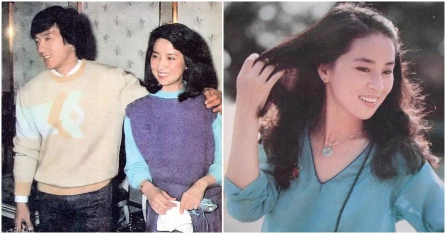 10 Foto cantiknya istri Jackie Chan saat masih muda