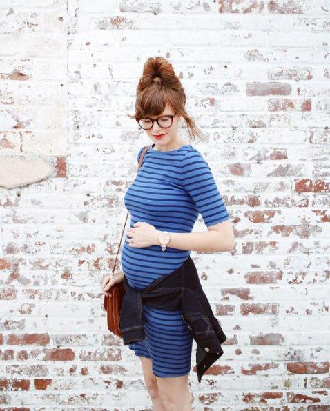gaya ibu hamil © 2017 Instagram