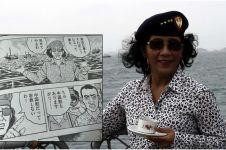 Karakter komik Jepang ini mirip Menteri Susi Pudjiastuti, setuju?
