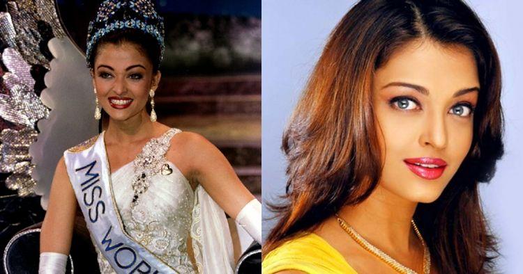 10 Foto lawas aktivitas Aishwarya Rai saat menjadi Miss World 1994