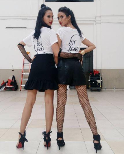 model kembar di AsNTM cycle 5  © 2017 Instagram