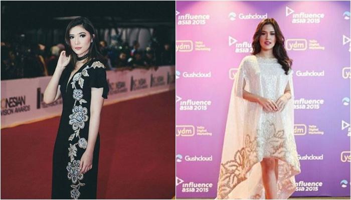 beda gaya fashion isyana vs raisa  © 2017 Instagram