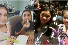 10 Foto Alea putrinya Ariel dan Manuela putrinya Sophia, akrab banget