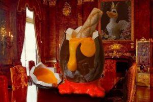 Telur Paskah ini beratnya capai 100 kg, dibanderol Rp 400 jutaan