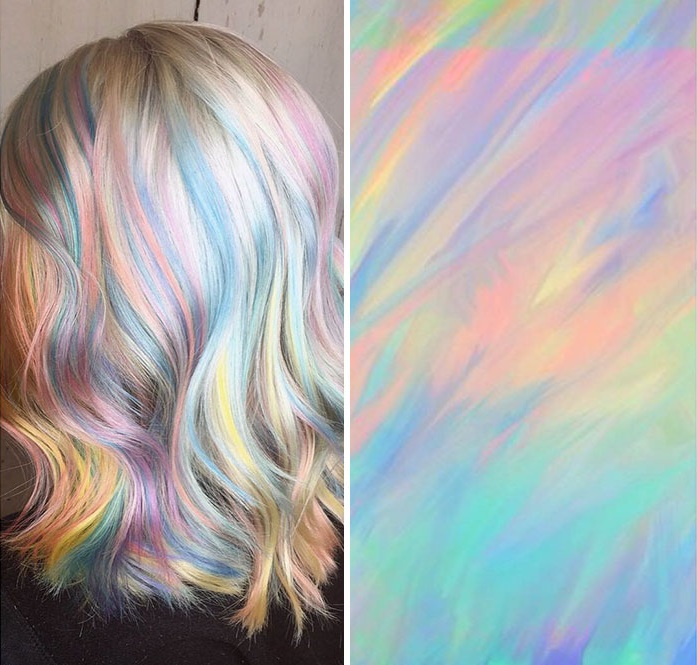 holographic hair © 2017 boredpanda.com