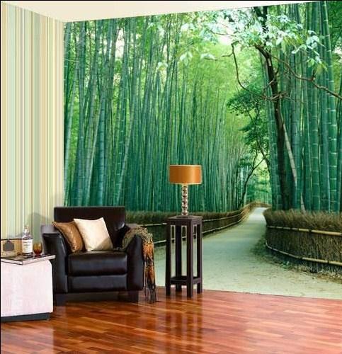 15 desain wallpaper dinding bertema pemandangan ini bikin for Design your own mural wallpaper