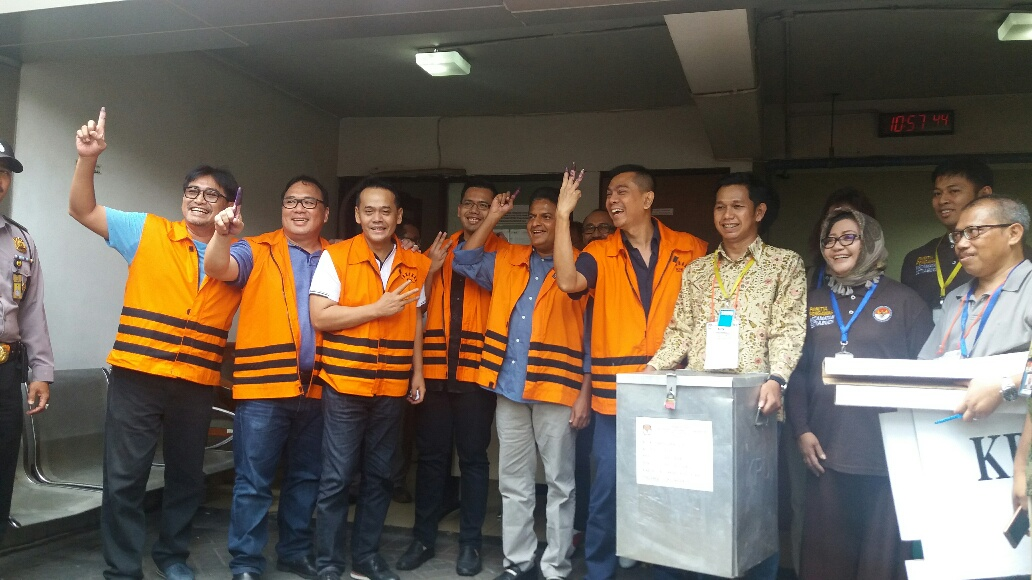 13 Tahanan KPK siap berikan suara di Pilkada DKI putaran II