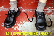 Kenapa ikatan tali sepatu sering lepas sendiri? Ini jawaban ilmiahnya