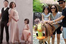 Menanti lahirnya anak kedua, ini 11 foto bahagia keluarga Ananda Omesh
