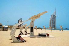 Bikin bengong, ini 6 keunikan yang cuma ada di pantai-pantai Dubai