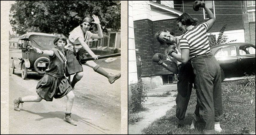 15 Foto bukti wanita sudah pandai bergaya di depan kamera sejak dulu