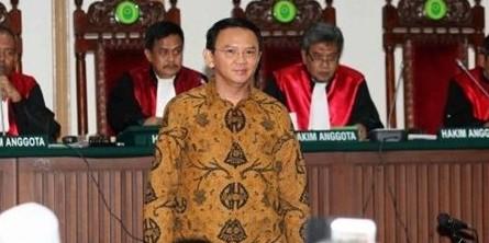 Terbukti bersalah, Ahok dituntut pidana penjara satu tahun