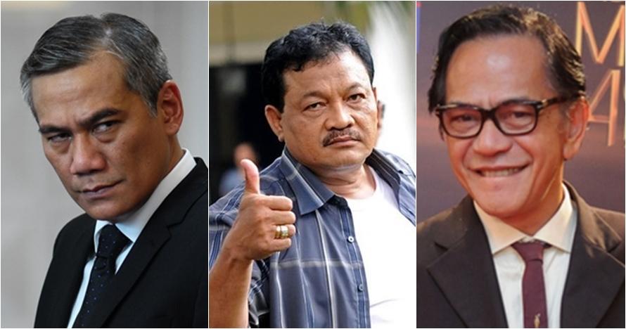 10 Aktor legendaris Indonesia ini identik dengan peran antagonis