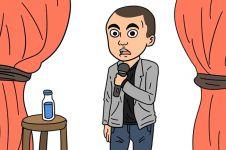 5 Video saat materi stand up comedy dijadikan animasi, lucu abis