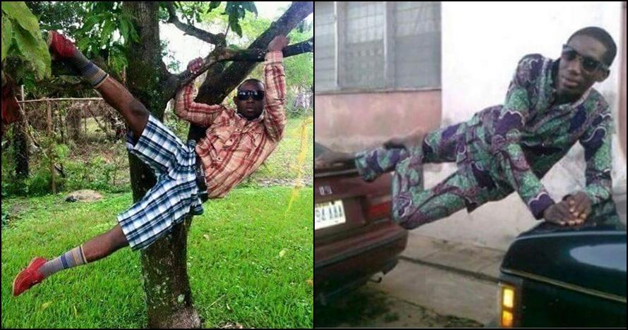 13 Gaya kocak orang Afrika pas difoto ini lucunya ugwemubwem osas pol