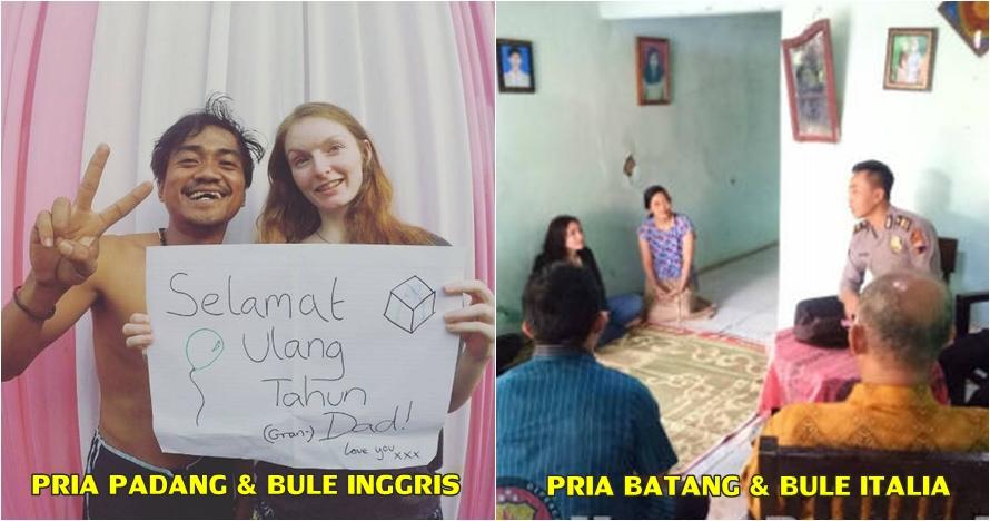 Jodoh tak kemana, 5 bule cantik ini jatuh ke pelukan lelaki Indonesia