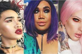 5 Beauty guru cowok ini bikin kamu minder dengan skill makeupnya