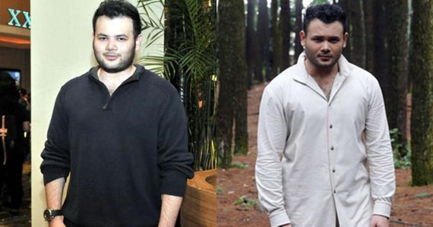 Perubahan penampilan 12 artis ganteng sebelum dan sesudah diet