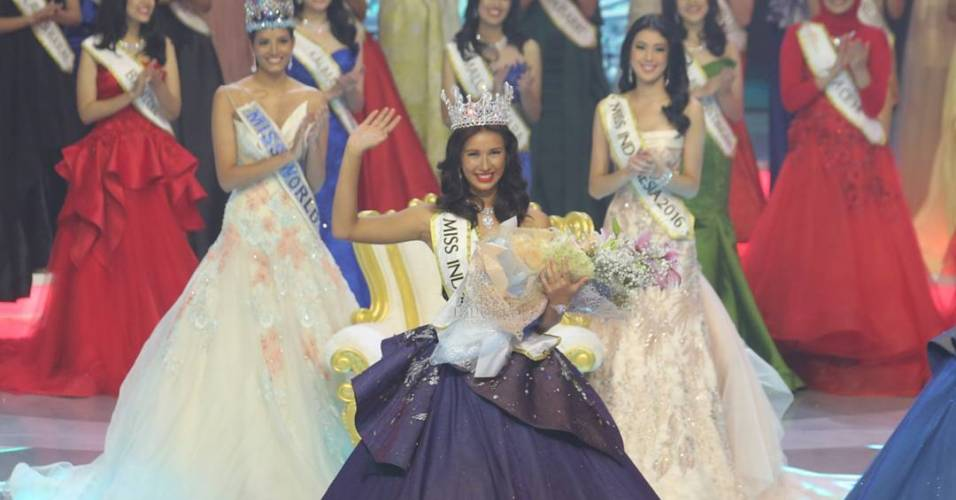 10 Fakta Miss Indonesia 2017 Achintya Nilsen, masih kelas 3 SMA